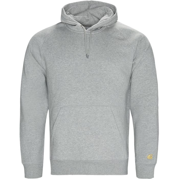 Hooded Chase Sweatshirt - Sweatshirts - Regular - Grå